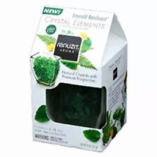 Renuzit Aroma Crystal Elements Air Freshening Crystals Emerald Rainforest HTF