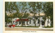 Florida, Fl, Miami, Woman's Club 1920's Postcard