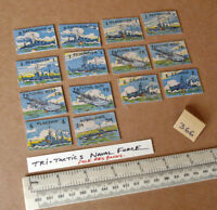 """14 Vintage Gibson War Game Spare Parts """"Tri-Tactics"""". 1940s/50s Period (366)"""