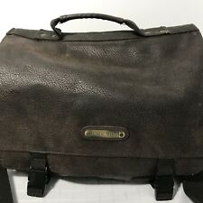 Cherokee Suede Leather Duffle Bag Leather 1990s Vintage