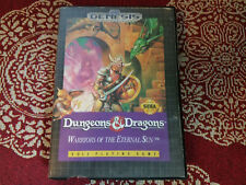 Dungeons & Dragons Warriors of the Eternal Sun Authentic Sega Genesis Case Only!