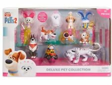 Secret Life of Pets 2 Deluxe Pet Collection 10 Pack Captain Snowball Hu Max Tiny