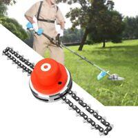 Steel Trimmer Head Coil Chain Brush Cutter Garden Grass For Lawn Mower 65Mn