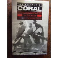History Australian Battle of Coral VIETNAM WAR 1968 by Lex McAulay NEW book