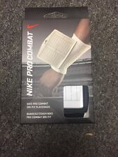Nike Pro Combat Dri-Fit Unisex Wrist Band PlayCoach Original $20