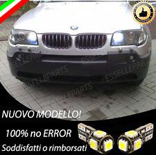 COPPIA LUCI DI POSIZIONE SPECIFICHE PER BMW X3 (E83) CANBUS 100% NO ERROR