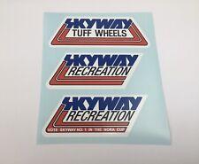 Skyway Recreation Decals Stickers old school BMX Restoration decals 80s