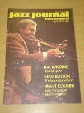 JAZZ JOURNAL INTERNATIONAL VOL 32 #4 1979 APRIL KAI WINDING STAN KENTON