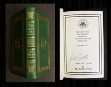 BILL RUSSELL SIGNED EASTON PRESS - RED AND ME, Boston Celtics, Red Auerbach NBA!