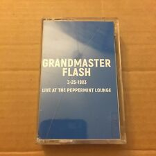 Grandmaster Flash 3-25-1983 Live at the Peppermint Lounge NYC CASSETTE MIXTAPE