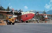 Photo. 1965-7. Sproat Lake, BC Canada. Martin Mars Water Bomber
