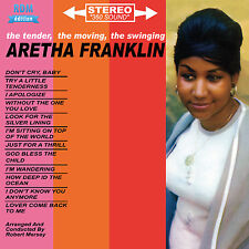 CD The Tender, the Moving, the Swinging Aretha Franklin (Stereo & Mono Mixes)