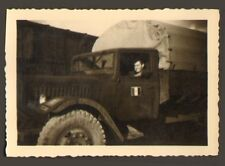 RASTATT ? PHOTO TROUPES FRANCAISES EN ALLEMAGNE CAMION TOA 1947