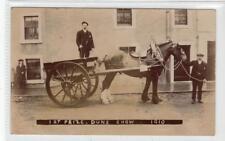More details for 1st prize, duns show 1910: berwickshire postcard (c31859)