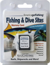 Palm Beach County Fishing & Dive Sites Memory Card