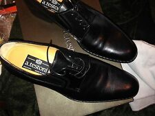 $1225 a.testoni  Oxford  black label hand made in ITALY