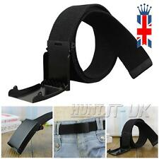 Cloth Belt Waistband Band Belt Black Men 38mm LS B4m5
