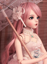 Full Set BJD Doll 1/3 60cm Pretty Girl With Face Makeup Dress Clothes Wig Shoes