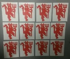 Manchester United FC Stickers - The Red Devils Football Sticker Set (12) MUFC