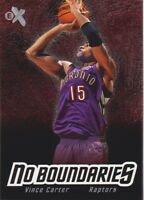 2000-01 E-X No Boundaries Basketball Cards Pick From List