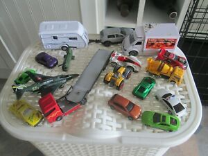 collection toy metal cars 17 in total