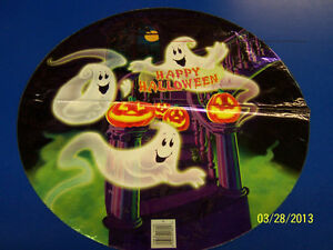 """Happy Haunting Ghost Halloween Carnival Party Decoration Foil 18"""" Mylar Balloon"""