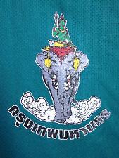 BANGKOK med soccer jersey teal Metro elephant logo Grand Sport Thai FA