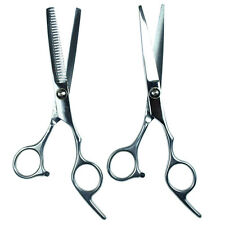 "Professional 6"" Hair Dressing Scissors Barber Thinner Shears Kit"