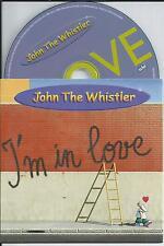 JOHN THE WHISTLER - I'm in love CD SINGLE 2TR Eurodance 2000 RARE!!