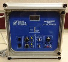 Custom Sensors Model 82B-35E Trace Oxygen Analyzer