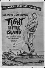Whisky Galore Basil Radford vintage movie poster print