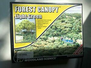 Woodland Scenics HO Forest Canopy Light Green F1660