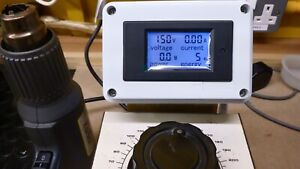 R.S. components variac(claude lyons) with digital read out.