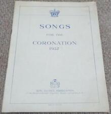 More details for girl guides songs for the coronation of king george vi song book
