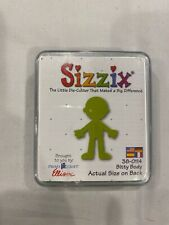 New listing Sizzix Original Small Green Bitty Body Scrapbooking Die 38-0114