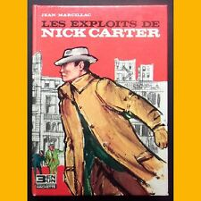 3 in 1 collection the exploits of nick carter jean marcillac j. - l. mercier 1965