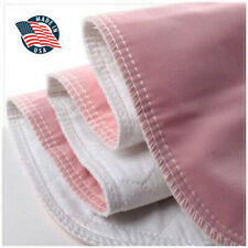 4 Premium Washable Underpads Bed Reusable Pads Waterproof Incontinence Hospital