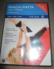 Pancia Piatta con pilates GAIAM 80 min  *NUOVO SIGILLATO*