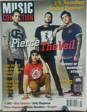 Music Connection July 2016 Pierce the Veil US Recording Studio FREE SHIPPING sb