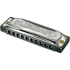 HOHNER BLUES BAND HARMONICA  # 1501 Key of C