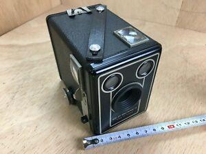 Eastmann Kodak Brownie SIX 20 Model D  Boxkamera befriedigend erhalten    #6