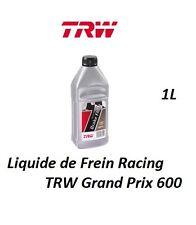 1L LIQUIDE DE FREIN HAUTE PERFORMANCE TRW GRAND PRIX 600 Noir MG