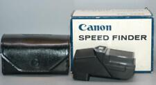 Canon F-1 Speed & Action Sports Finder for early F1 classic camera - Mint in box