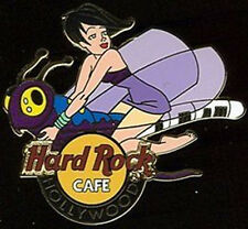 Hard Rock Cafe Hollywood Ca 2005 Flying Girl Series Pin #2/4 - Dragonfly #28482