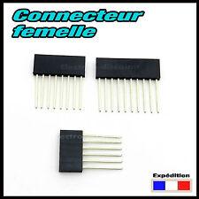 928# connecteur femelle 6, 8 ou 10 longues pattes , shield Arduino barrette