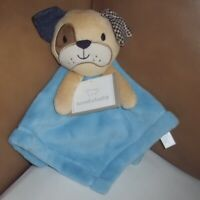 "KOALABABY BLUE DOG PLUSH SOFT BLANKIE COMFORTER 12"" (30cm) NEW TAGGED"