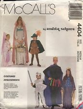 McCall's Adult Medieval Costume Pattern #4407 King Queen Knight Robin Hood 36-38