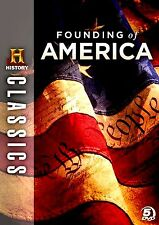 BRAND NEW // HISTORY CHANNEL // Founding of America // 5DVD SET//8 DOCUMENTARIES