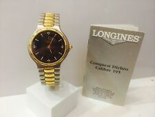 OROLOGIO LONGINES COLLECTION CONQUEST DICHRO L1.622.3  BICOLORE-NUOVO-