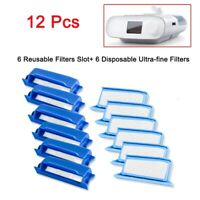 Filtres CPAP de Remplacement pour Phillips Respironics Dreamstation 6 Fente d V5